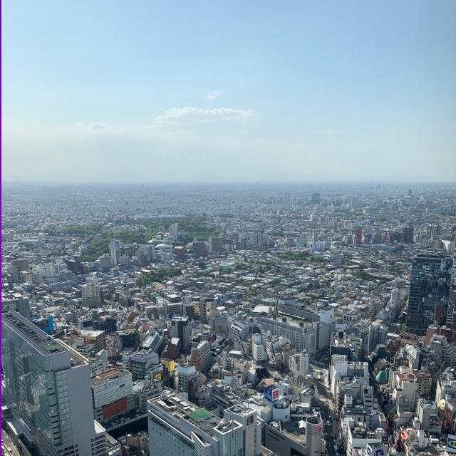 渋谷スクランブル交差点付近