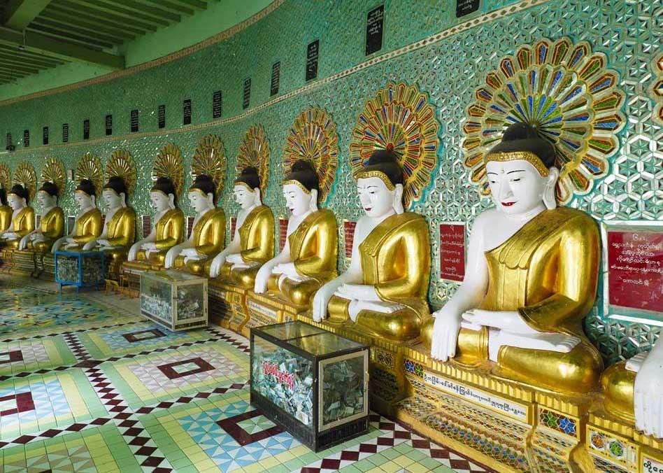 <ミャンマーの旅>マンダレー信仰の要、マハムニ仏に手を合わせる(マンダレー①)_1_6-2