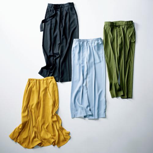 エルーラのパンツとスカート