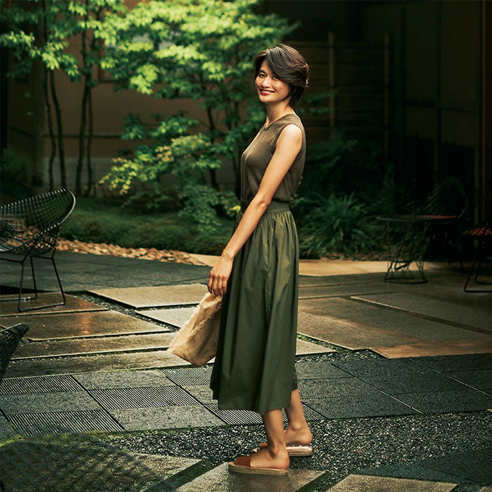 モデル渡辺佳子さん旅ワードローブを拝見!3泊4日星のや京都へ【おしゃれプロの旅支度】_1_1-2