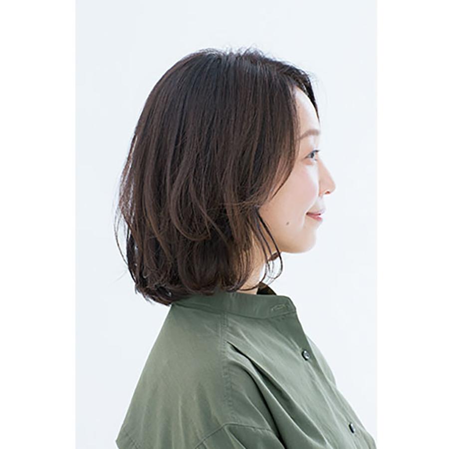 横から見た 人気ヘアスタイル3位の髪型