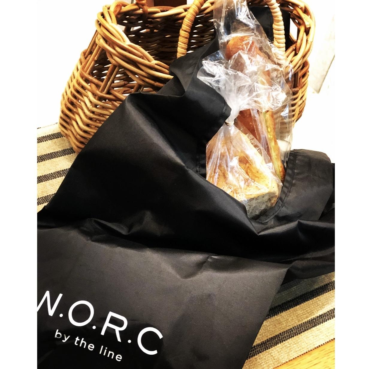 エクラ4月号付録 「N.O.R.C」とコラボした黒ショッパーBAG