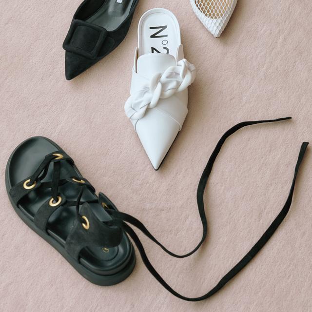 いつもの着こなしにプラスするだけで着映える靴3