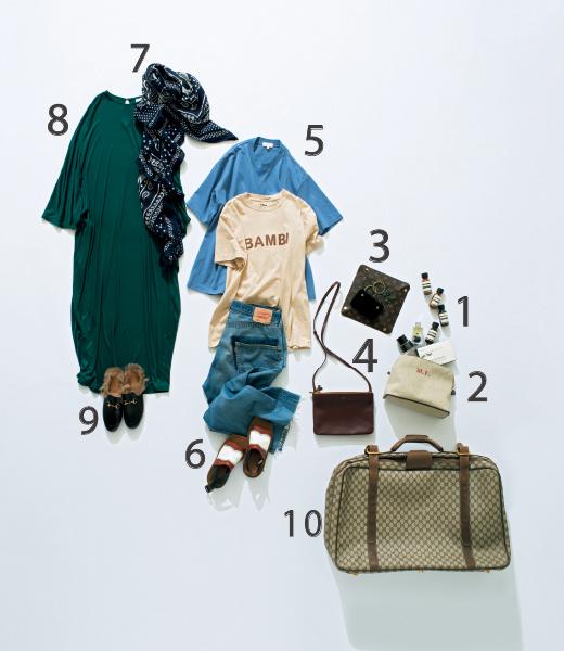 """""""さし色ジュエリー""""を重ねて、ハワイへファッションロケの旅【スーツケースの中身】_1_1"""