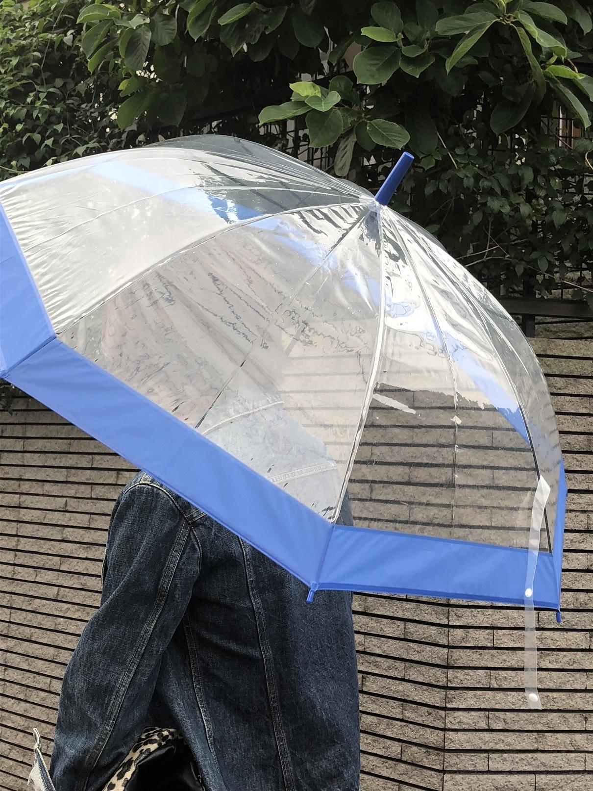 雨の日コーデと3コインズの使えるビニール傘_1_1-2