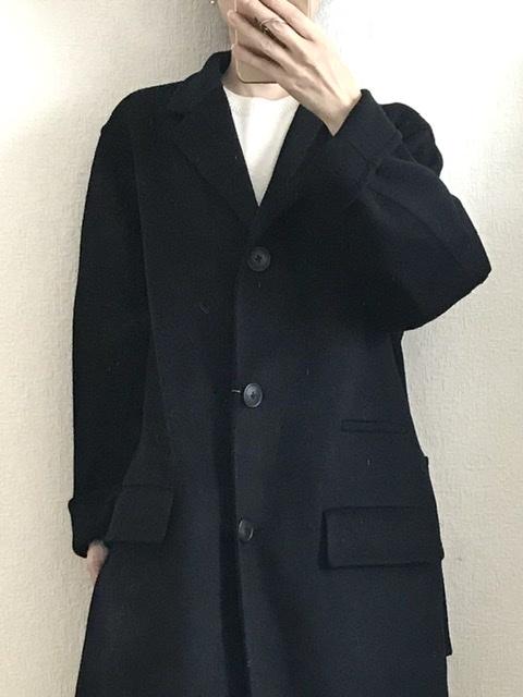 ユニクロ+J カシミアブレンドチェスターコート
