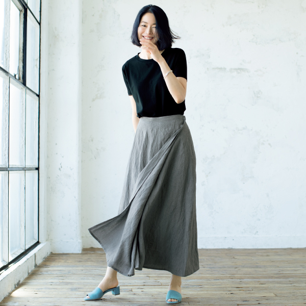 """着映え力が自慢 """"涼しく、きれいで、心地よい""""Tシャツ&スカート_1_1"""