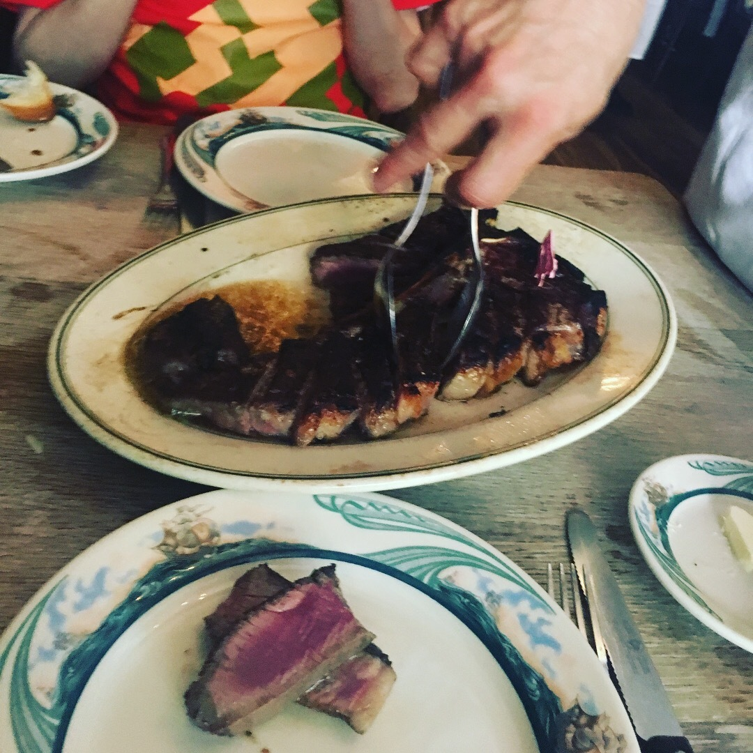 ステーキを食べに@NY_1_5