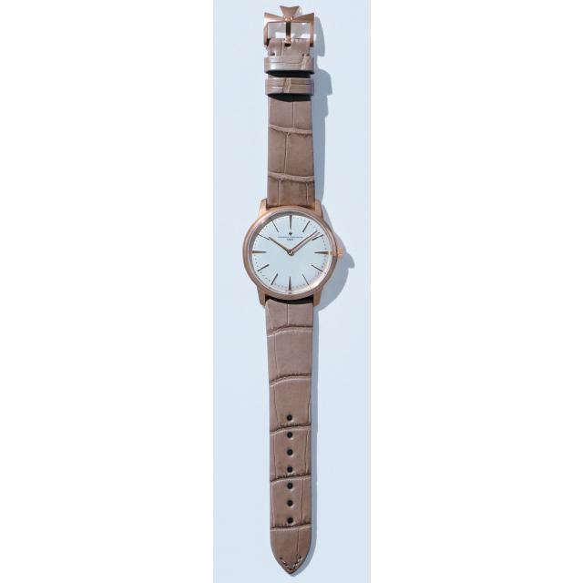 ヴァシュロン・コンスタンタンの時計「パトリモニー・マニュアルワインディング」