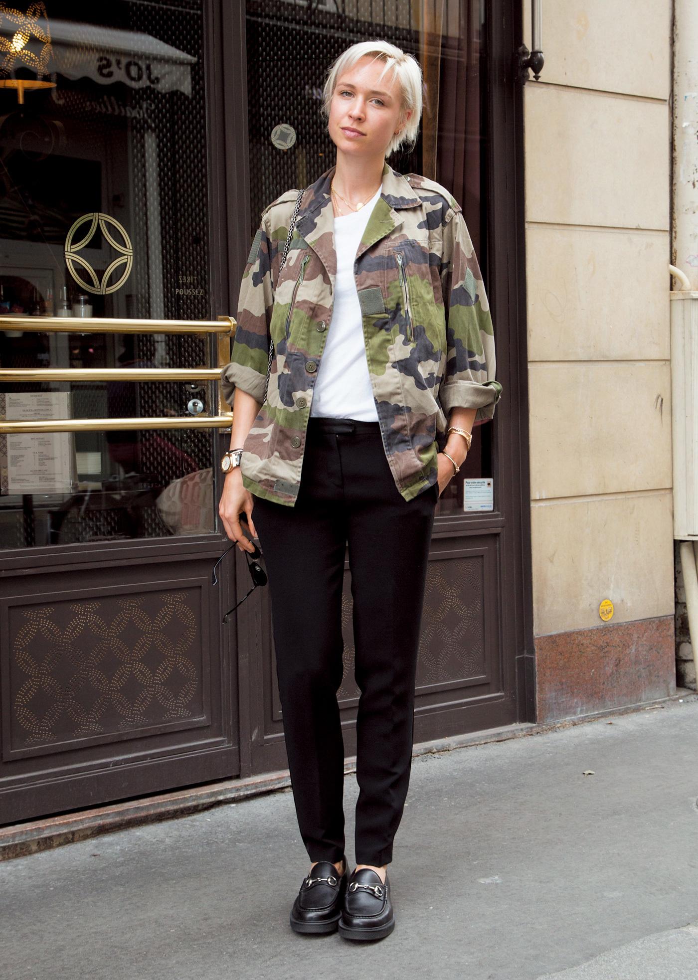ゆるテーパードパンツで着こなしのこなれ度アップ【ファッションSNAP ミラノ・パリ編】_1_1