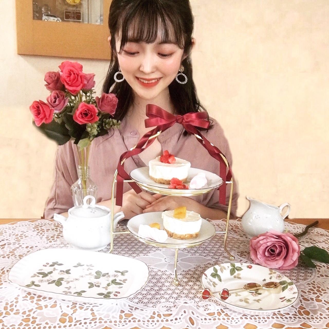 """【これで500円 ?!♥】ニトリのティースタンドで """"映えおうちカフェ""""_1_5"""