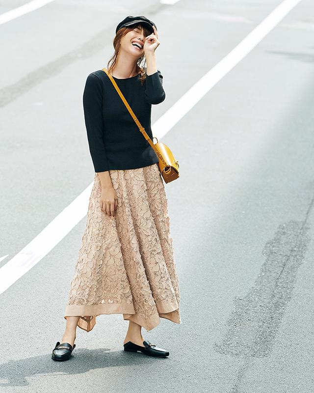 ちょっぴり大人に進化したジャスグリッティーなら見つかる 「スカート上手」になれる、秋の5着_1_4