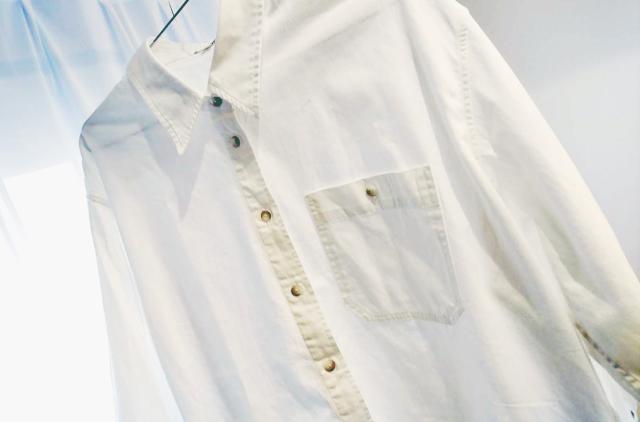 UNIQLOのデニムオーバーシャツで40代のエフォートレスコーデ_1_1