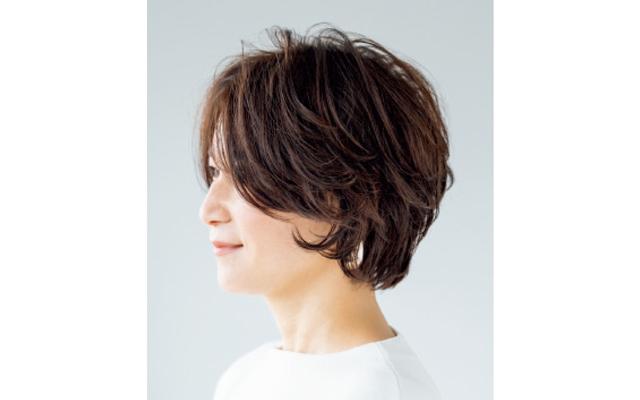 部分パーマでふんわり髪と動きを一挙両得 サイド