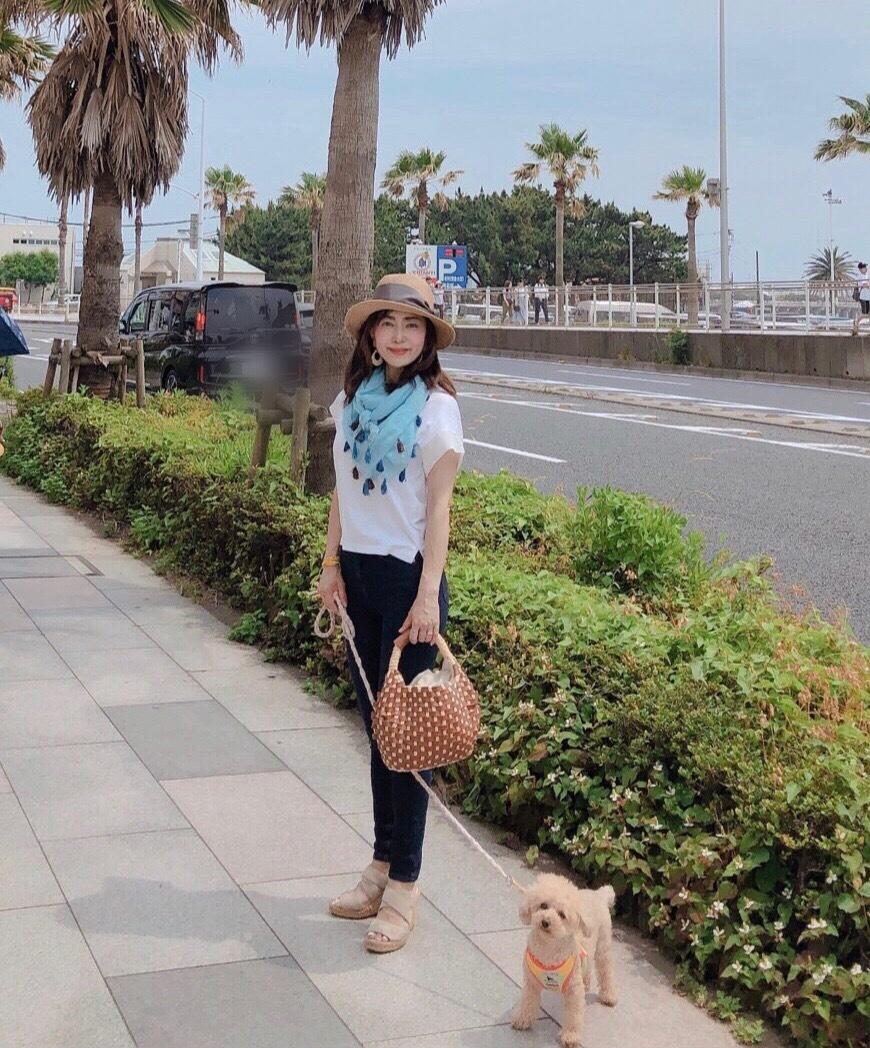 アレンジTで愛犬を連れて江ノ島デート♪_1_1