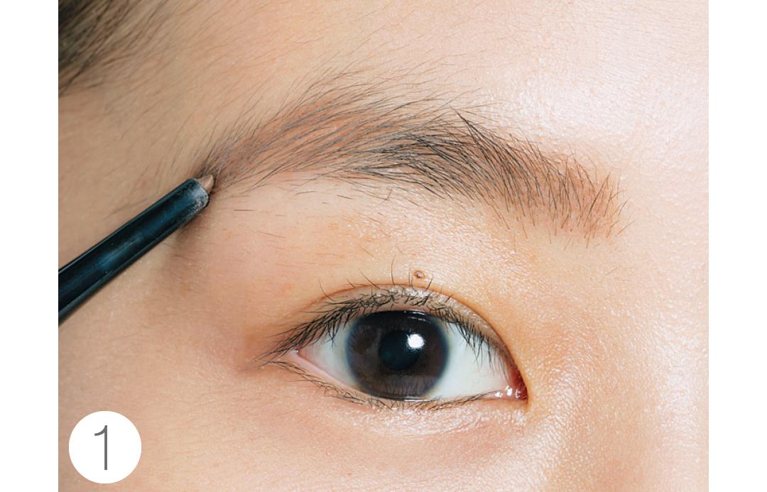 「太眉で薄い」人の眉の描き方&整え方、教えます!_1_5-1