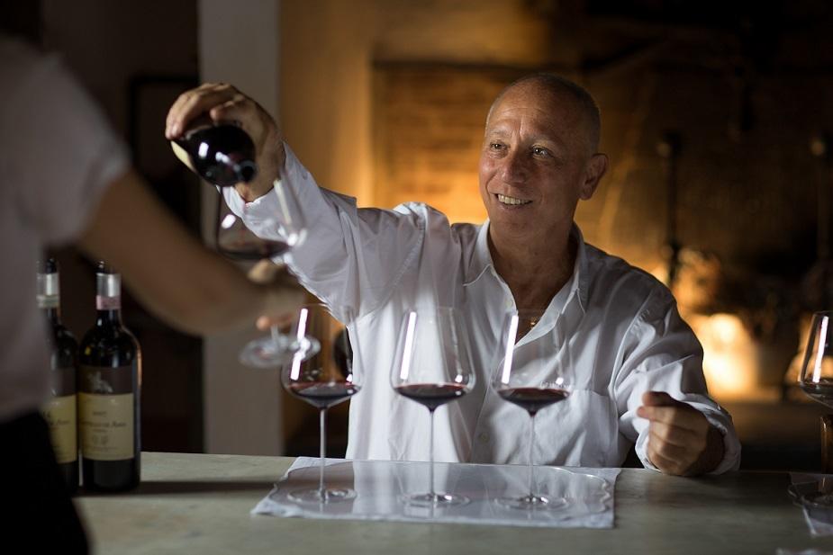 キャンティ・クラシコの名門「カステッロ・ディ・アマ」のオーナー兼醸造家のマルコ・パランティ氏