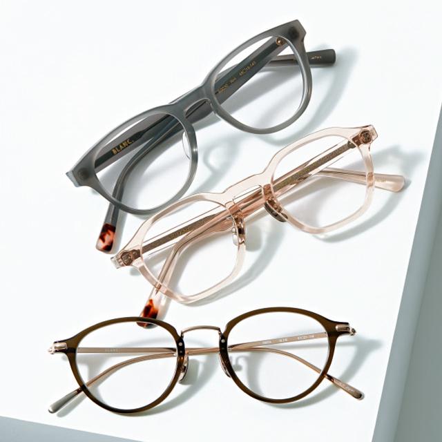 おしゃれメガネブランド「BLANC(ブラン)」のメガネ