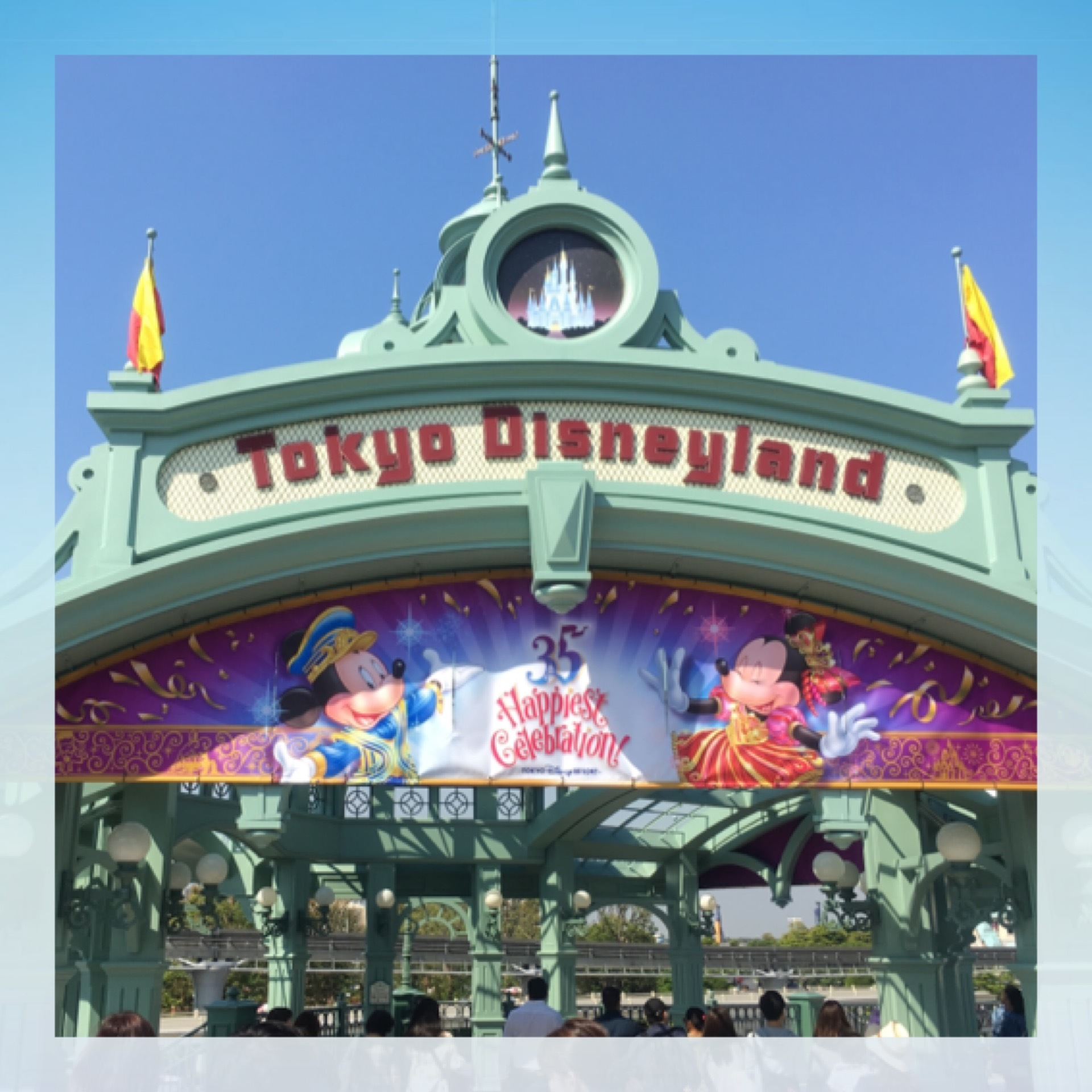 Tokyo Disneyland《 35 Happiest Gelebration! 》に行ってきました♫_1_2-2