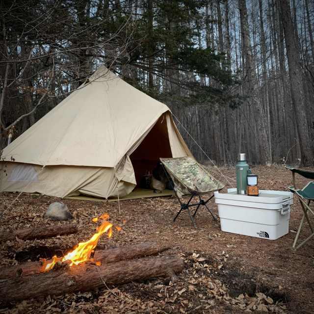 キャンプ thenorthface