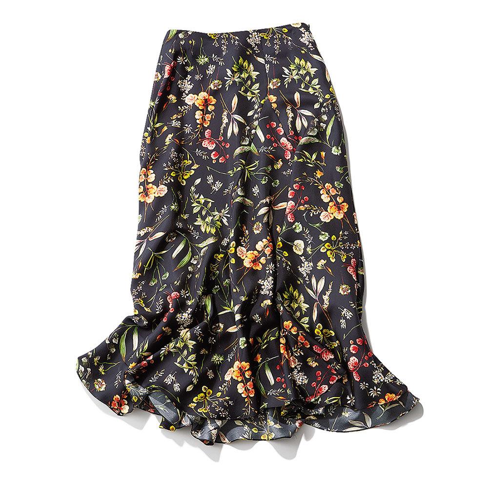 ファッション 花柄スカート