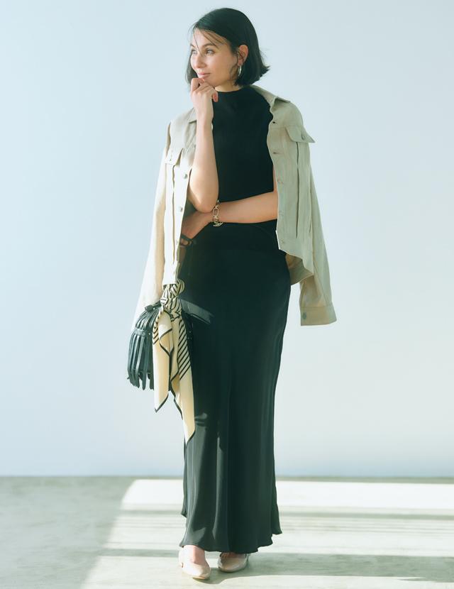 SHAINA MOTE(シャイナ モート)のナロースカート