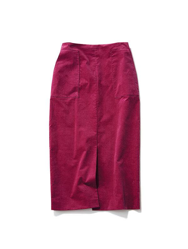 女っぷり高めのロングスカートを主役に。エディター坪田あさみさんのコンバースコーデ_1_1-3