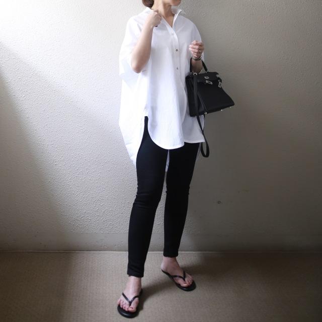 困った時の白いシャツ。_1_3