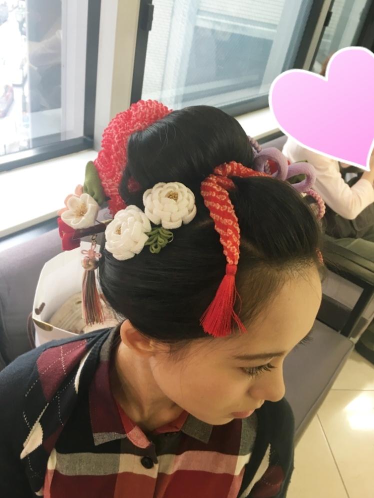 成人式の髪型紹介♡前撮りは伊勢丹写真館で_1_4-2
