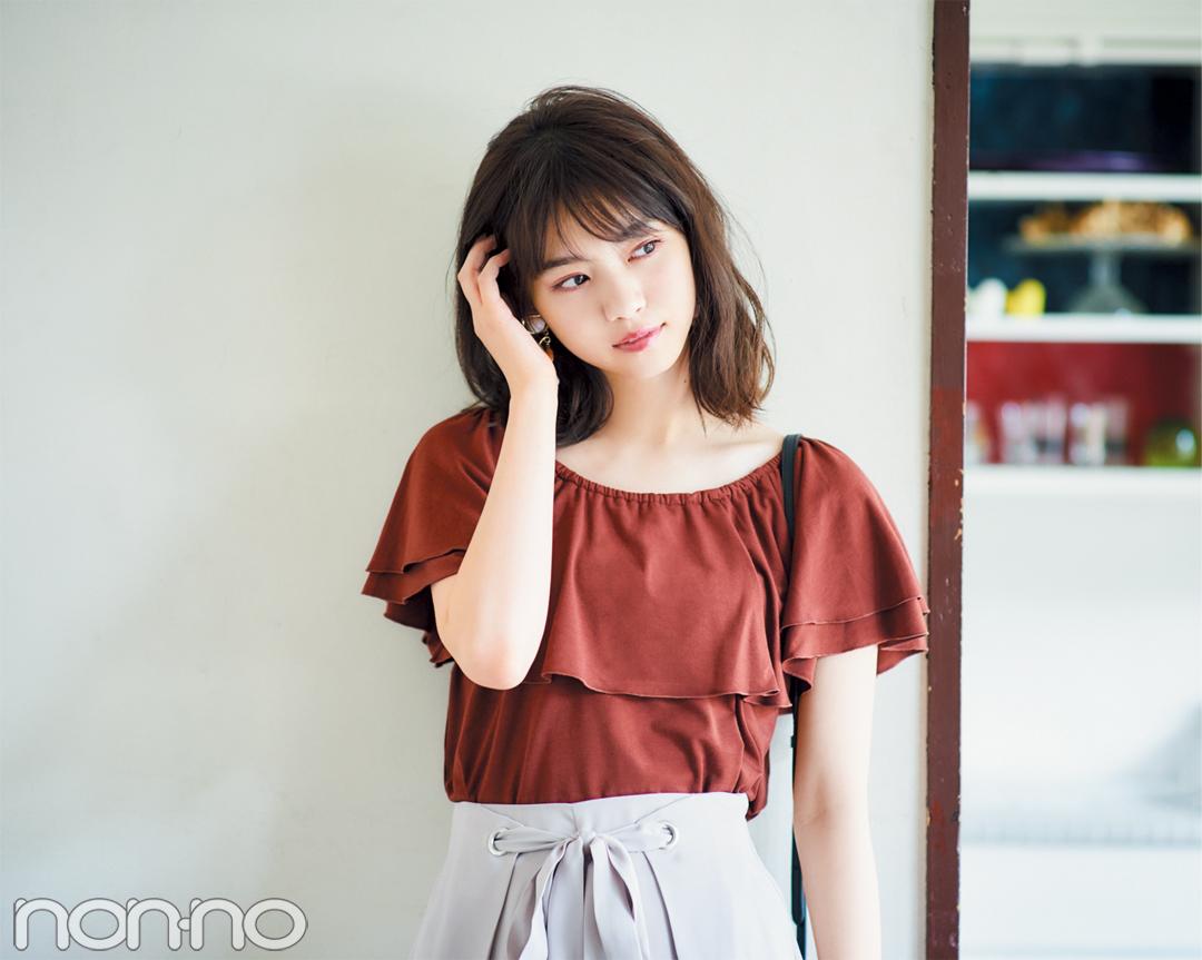 """七瀬も夢中♡ 秋の新作""""フェミショル""""、フリルつきで写真映え!_1_2-1"""