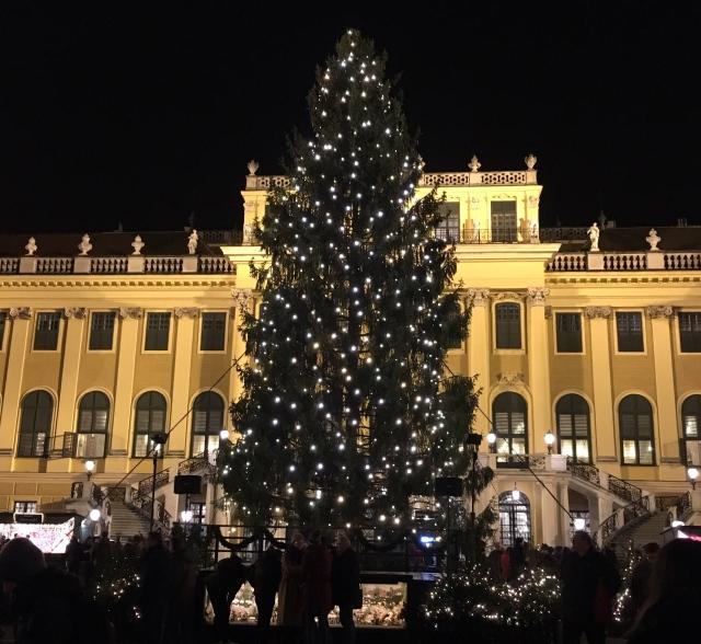 シェーンブルン宮殿はクリスマスマーケット☆_1_2