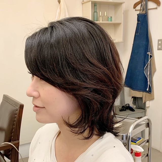 ☆くせ毛を活かす!過ごしやすいヘアスタイル☆_1_4