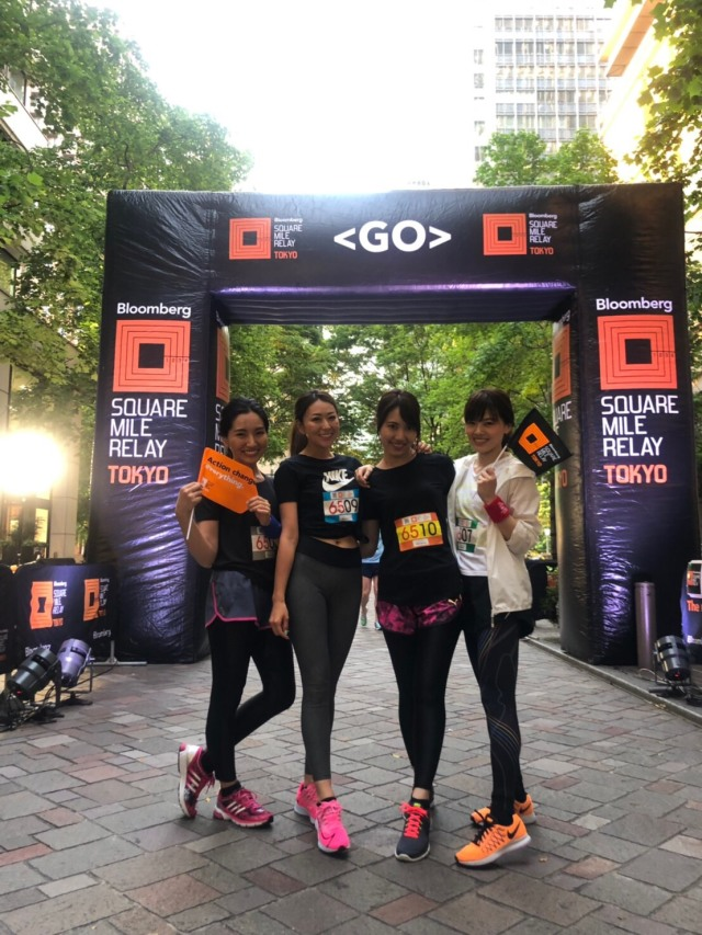 Bloomberg Square Mile Relay TOKYO_1_1