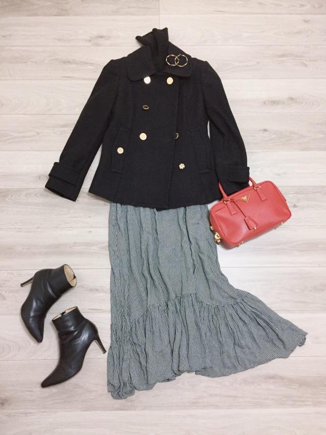 UNIQLOカシミヤセーター着まわし【momoko_fashion】_1_3-2
