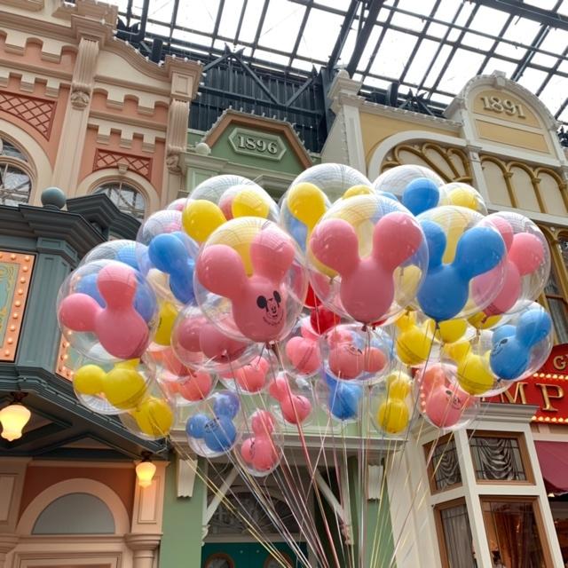 【 TokyoDisneyland 】風船が 、可愛いすぎる!_1_1