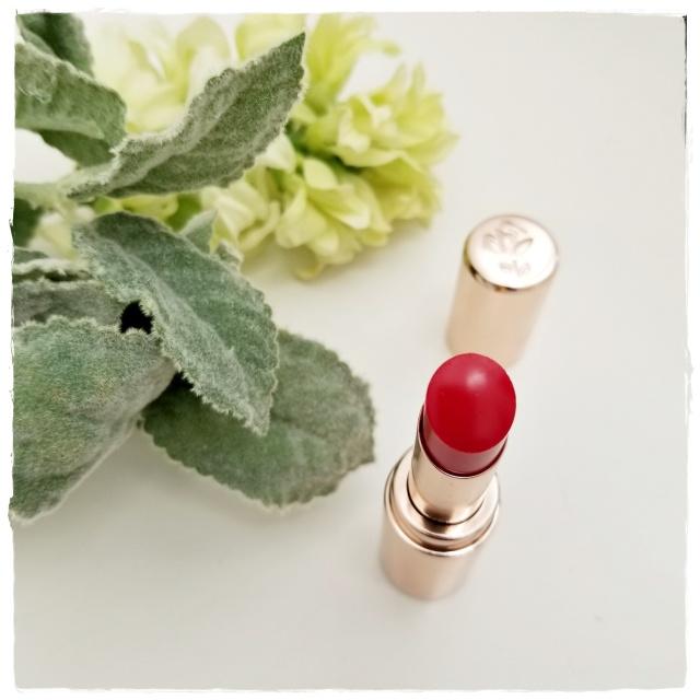 この春は透け感のある赤のシアーリップと赤パンプスから始めます♡_1_2