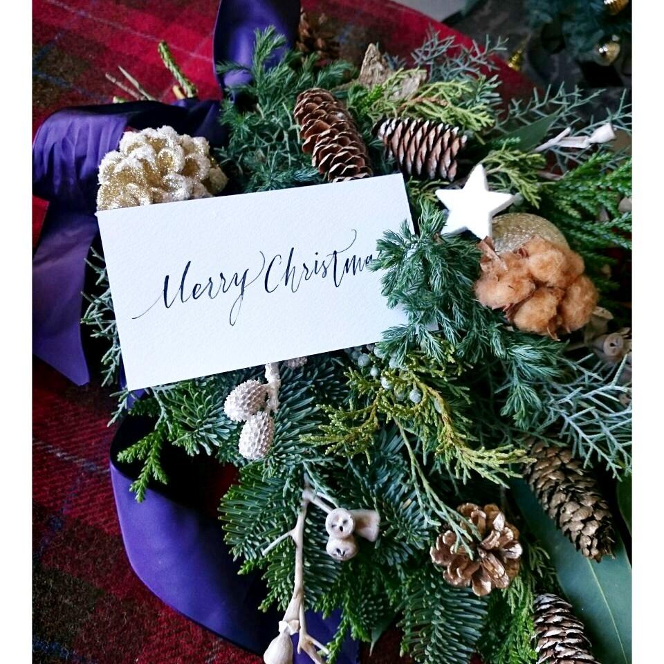 今年のクリスマスは大人のスワッグで♡_1_2