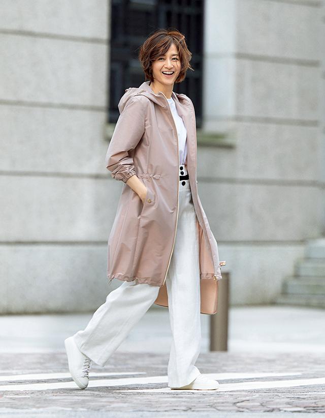 ほんのりかわいげがちょうどいい大人のためのピンクコート