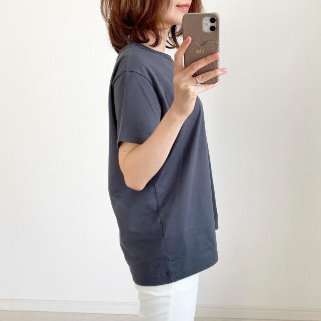 別注!限定ロゴTシャツで春先取りスタイル【tomomiyuコーデ】_1_4