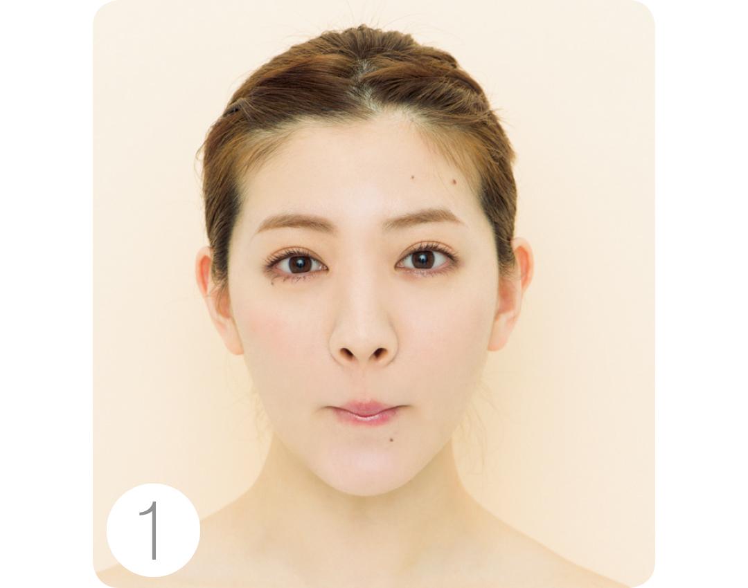 丸顔でほっぺがパンパン…大反響のくちびる締めで顔矯正エクササイズで解消!_1_4-1