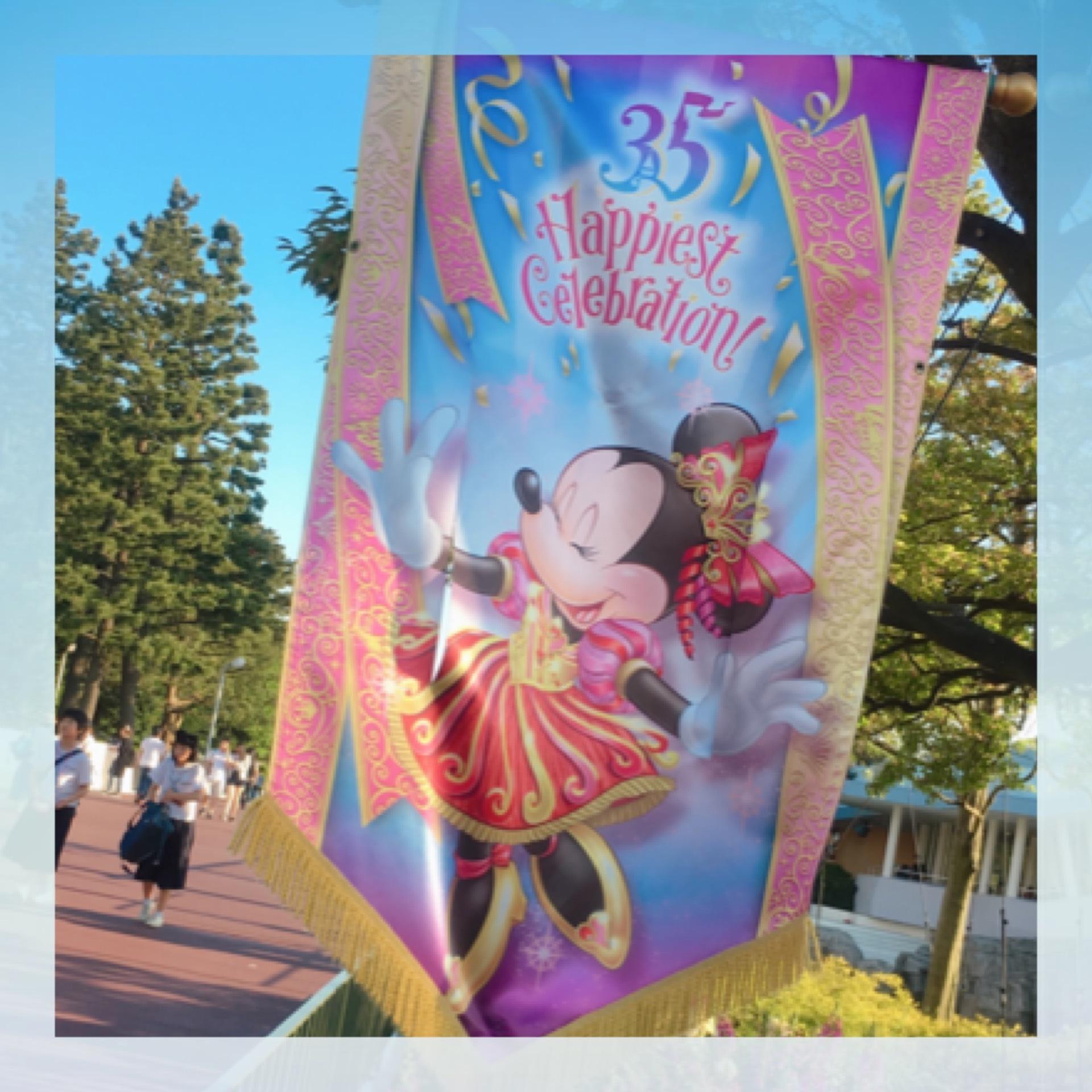Tokyo Disneyland《 35 Happiest Gelebration! 》に行ってきました♫_1_5-3