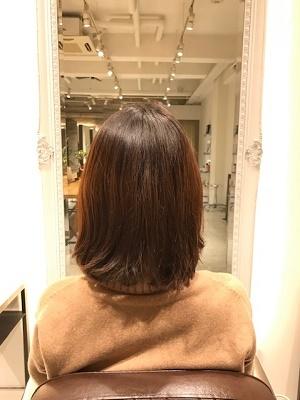 中途半端に伸びた髪