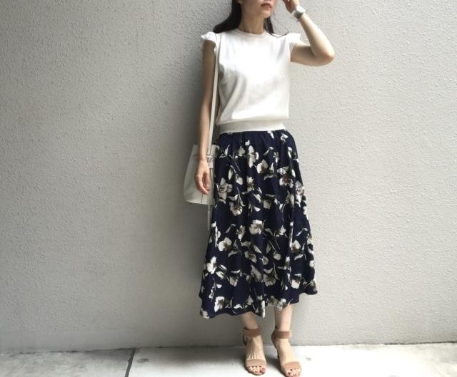 手持ちの服で完成する真夏の時短コーデ_1_2