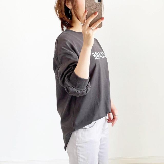 GWにまだ間に合う!長袖ロゴTシャツ【tomomiyuコーデ】_1_2