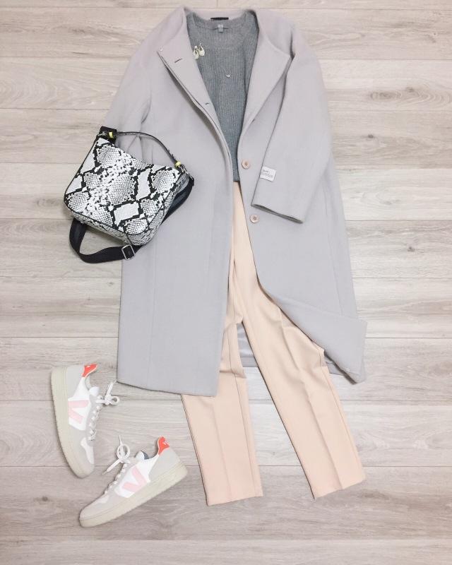 大人の白スニーカー更新☆VEJA【momoko_fashion】_1_4-1
