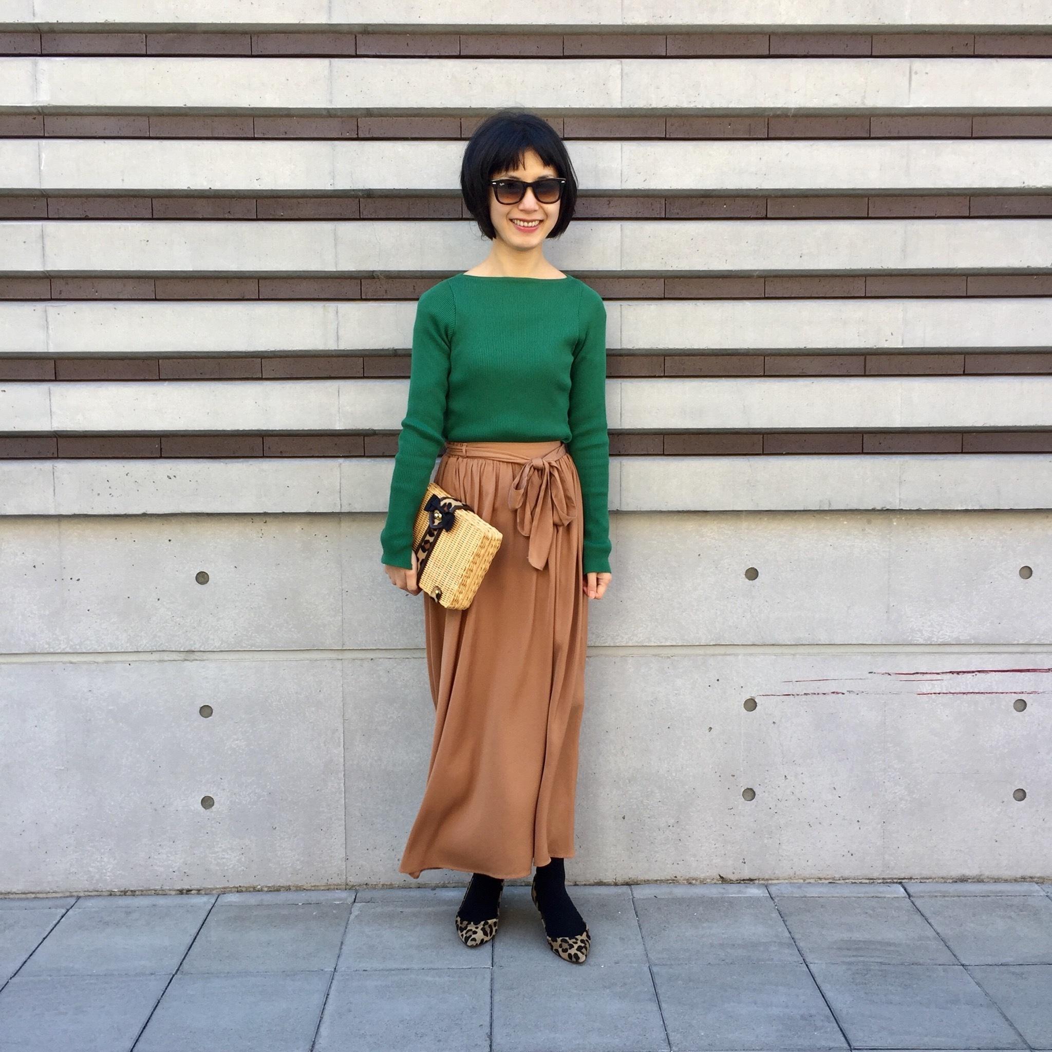 この春の注目色「グリーン」を美女組さんはどう着る?【マリソル美女組ブログPICK UP】_1_1-4