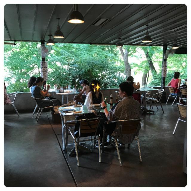 「蜜」の心配不要!緑の中のオープンテラス レストラン♪_1_2-3