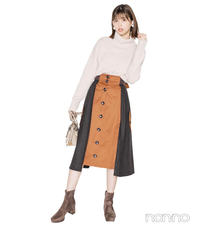 スカートにはショートブーツが今季の鉄板!【秋冬トレンド服の正解コーデ教えます】_1_5