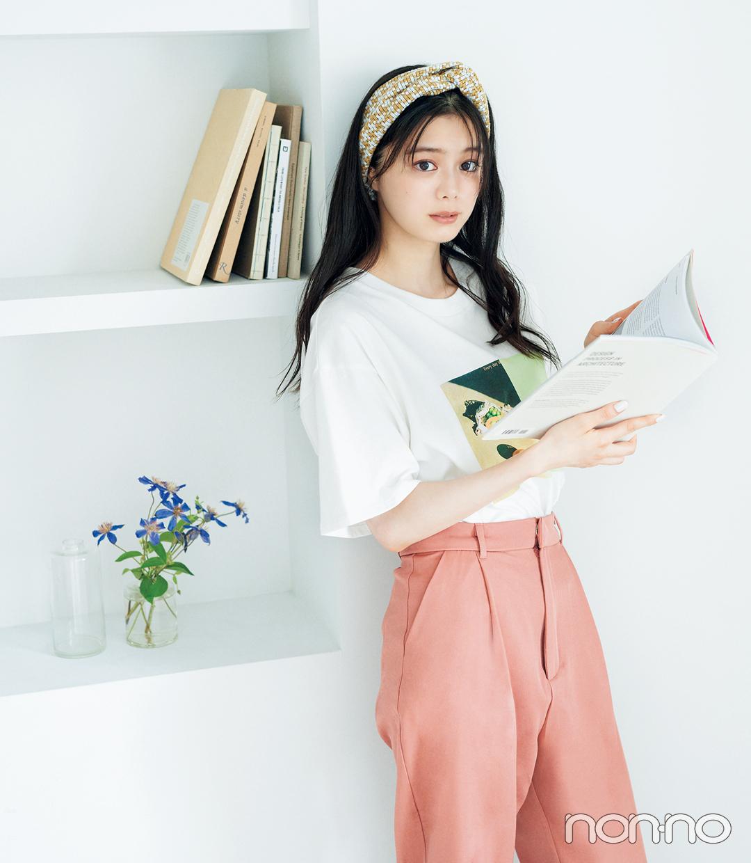 紺野彩夏のヘアアクセ&アレンジ図鑑のモデルカット4-2