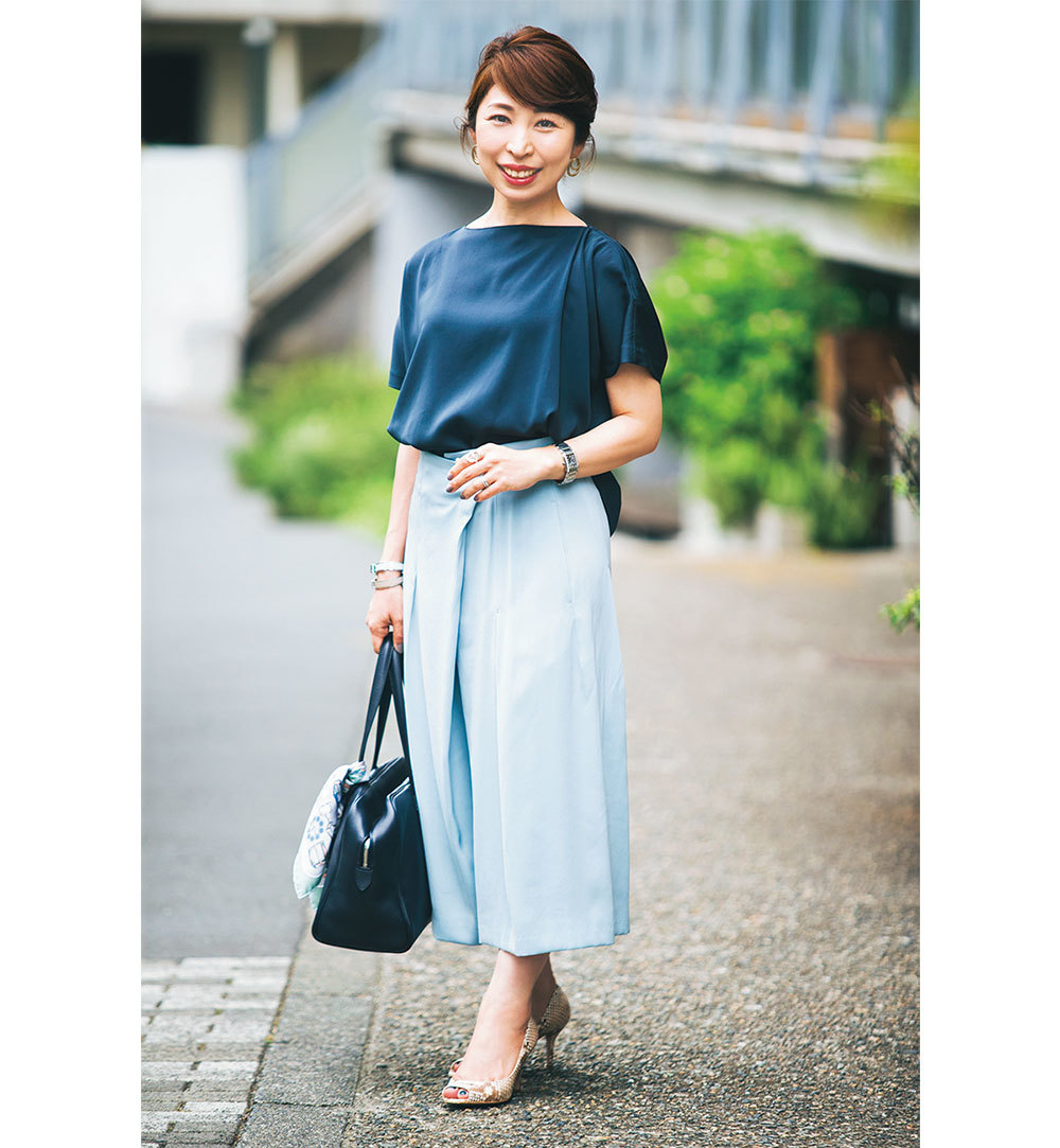 通勤パンツも堅すぎず、きちんとおしゃれなのが美女組流 Style【美女組ファッションSNAP】_1_1-3